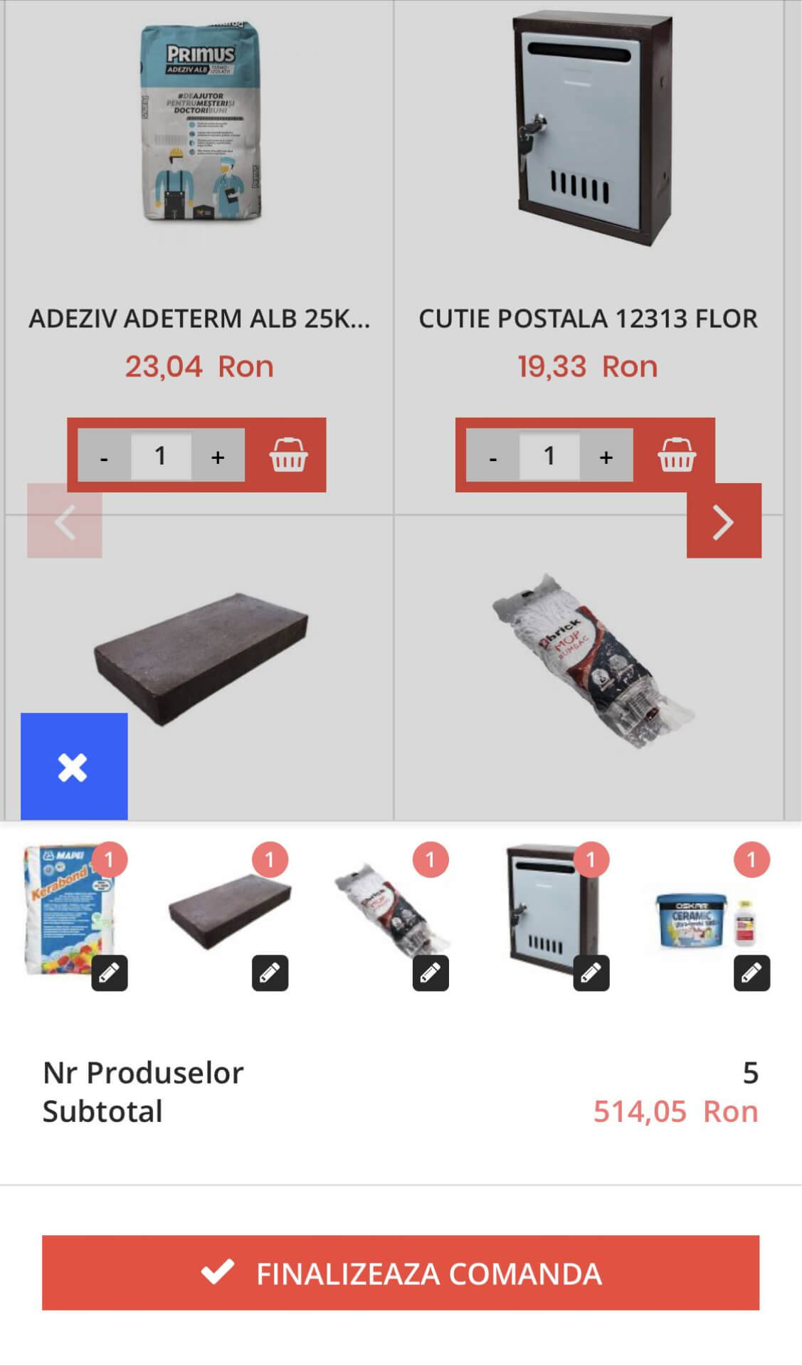 cart and checkout ux
